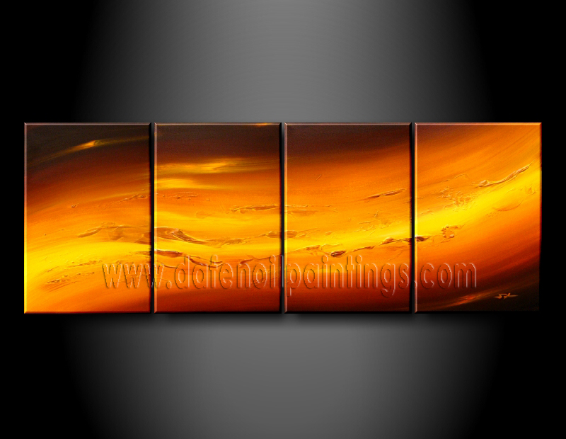 Modern Oil Paintings on canvas abstract painting -set08068