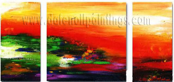 Modern Oil Paintings on canvas abstract painting -set08100