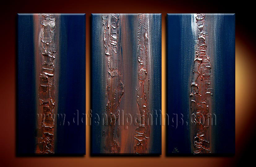 Modern Oil Paintings on canvas abstract painting -set08105