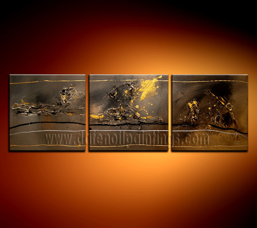 Modern Oil Paintings on canvas abstract painting -set08112