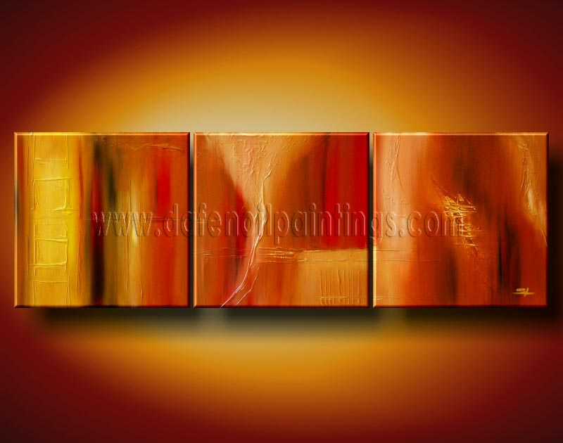 Modern Oil Paintings on canvas abstract painting -set08120