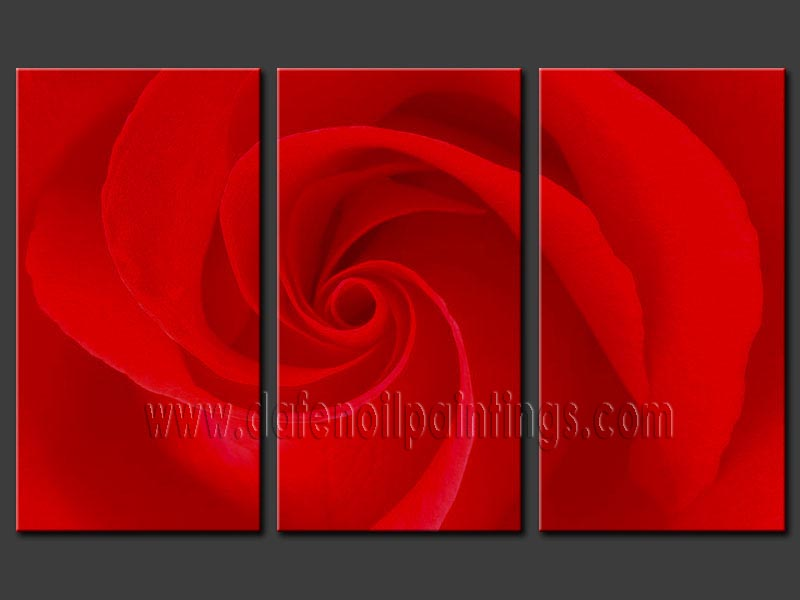 Modern Oil Paintings on canvas flower painting -set08123