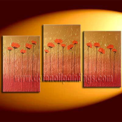 Modern Oil Paintings on canvas abstract painting -set08128