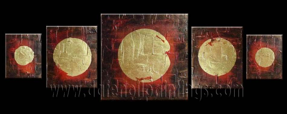 Modern Oil Paintings on canvas abstract painting -set08134