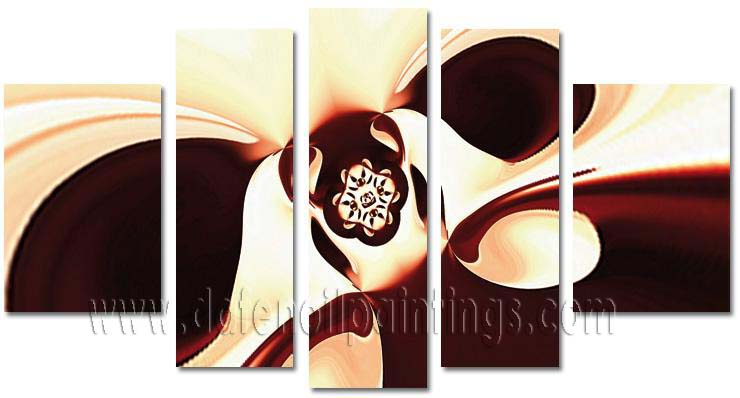 Modern Oil Paintings on canvas abstract painting -set08136