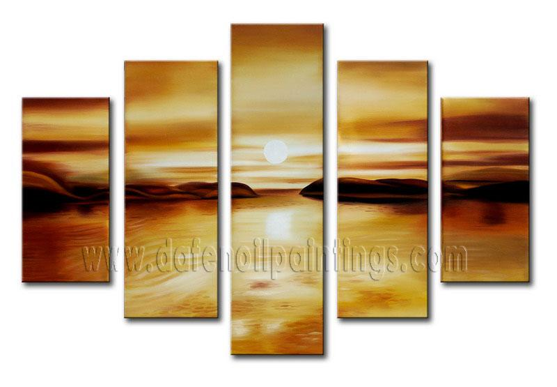 Modern seascape oil painting