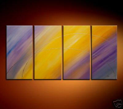 Modern Oil Paintings on canvas abstract painting -set08174