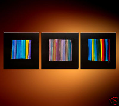 Modern Oil Paintings on canvas abstract painting -set08177