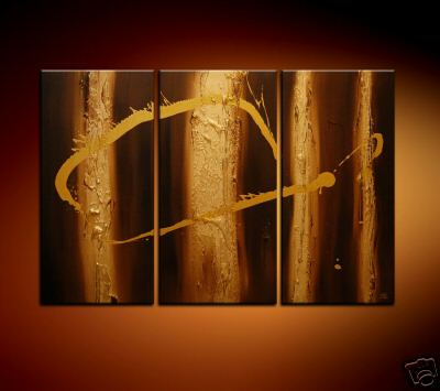 Modern Oil Paintings on canvas abstract painting -set08201