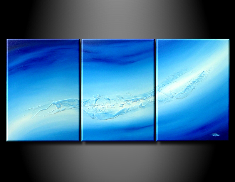 Modern Oil Paintings on canvas abstract painting -set08210