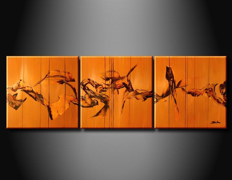 Modern Oil Paintings on canvas abstract painting -set09024
