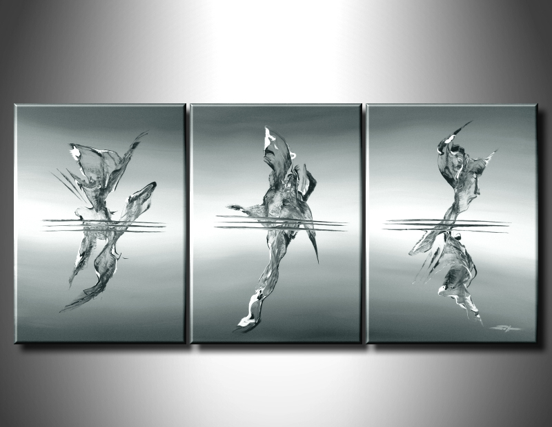 Modern Oil Paintings on canvas abstract painting -set09028