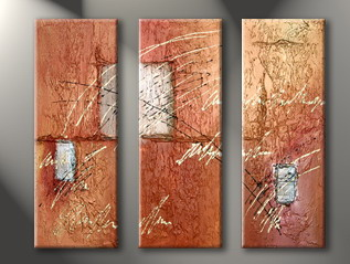 Modern Oil Paintings on canvas abstract painting -set09032