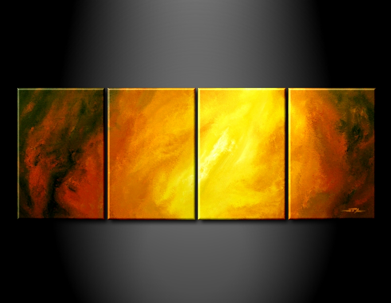 Modern Oil Paintings on canvas abstract painting -set09035