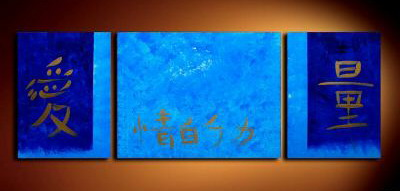 Modern Oil Paintings on canvas abstract painting -set09042