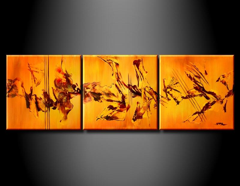 Modern Oil Paintings on canvas abstract painting -set09044