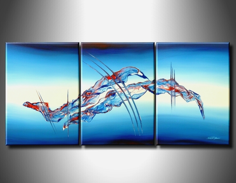 Modern Oil Paintings on canvas abstract painting -set09059