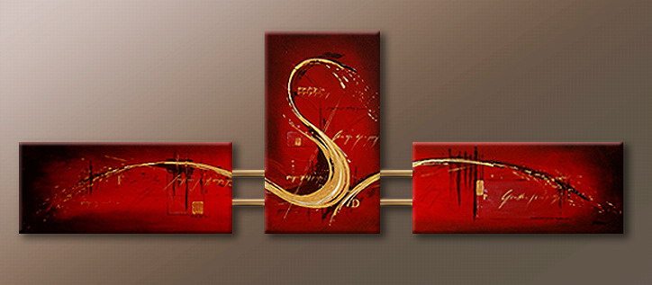 Modern Oil Paintings on canvas abstract painting -set09065