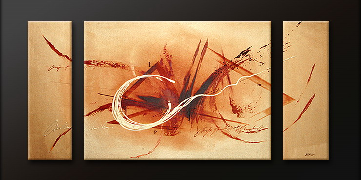 Modern Oil Paintings on canvas abstract painting -set09083
