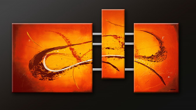 Modern Oil Paintings on canvas abstract painting -set09088