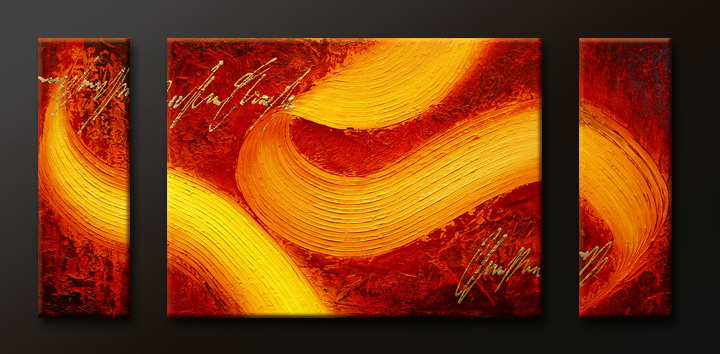 Modern Oil Paintings on canvas abstract painting -set09104