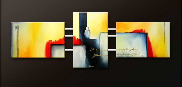Modern Oil Paintings on canvas abstract painting -set09105
