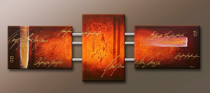 Modern Oil Paintings on canvas abstract painting -set09107