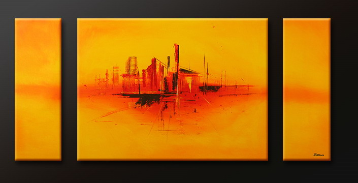 Modern Oil Paintings on canvas abstract painting -set09115