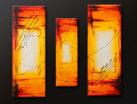 Modern Oil Paintings on canvas abstract painting -set09117
