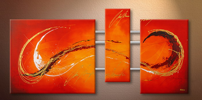 Modern Oil Paintings on canvas abstract painting -set09119