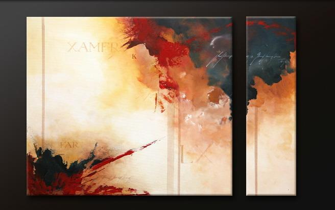 Modern Oil Paintings on canvas abstract painting -set09123
