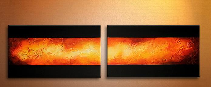 Modern Oil Paintings on canvas abstract painting -set09125