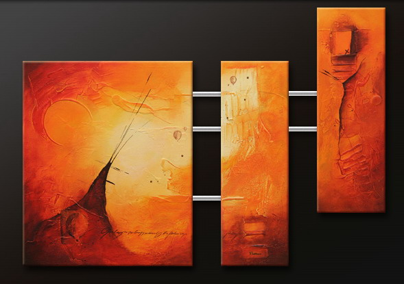 Modern Oil Paintings on canvas abstract painting -set09127