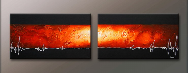 Modern Oil Paintings on canvas abstract painting -set09128