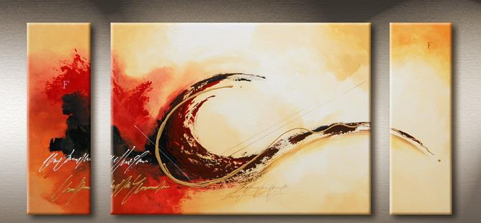 Modern Oil Paintings on canvas abstract painting -set09134
