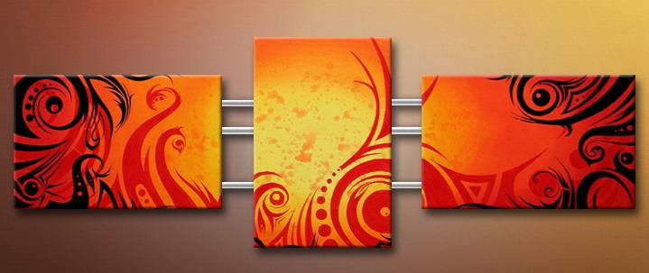 Modern Oil Paintings on canvas abstract painting -set09138