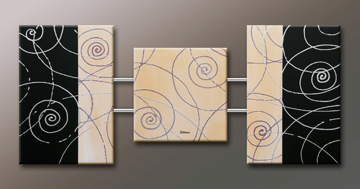 Modern Oil Paintings on canvas abstract painting -set09139