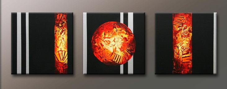 Modern Oil Paintings on canvas abstract painting -set09143