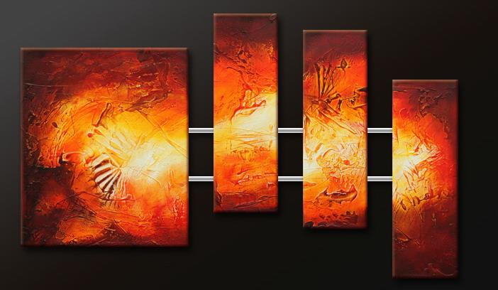 Modern Oil Paintings on canvas abstract painting -set09153