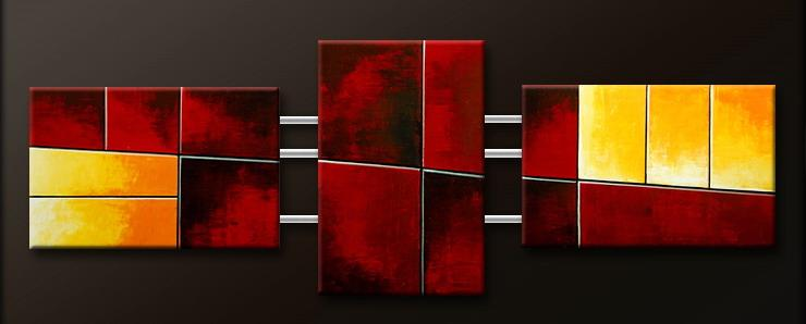 Modern Oil Paintings on canvas abstract painting -set09158