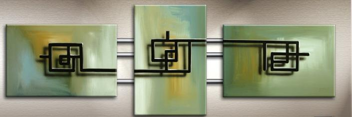 Modern Oil Paintings on canvas abstract painting -set09159