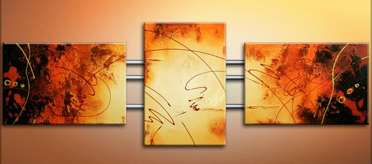Modern Oil Paintings on canvas abstract painting -set09161