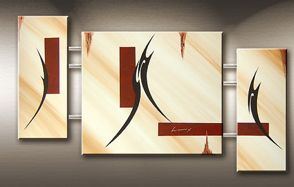 Modern Oil Paintings on canvas abstract painting -set09175