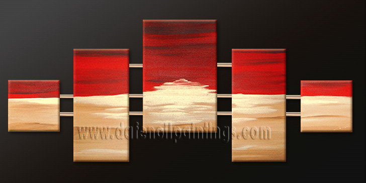 Modern Oil Paintings on canvas abstract painting -set09181