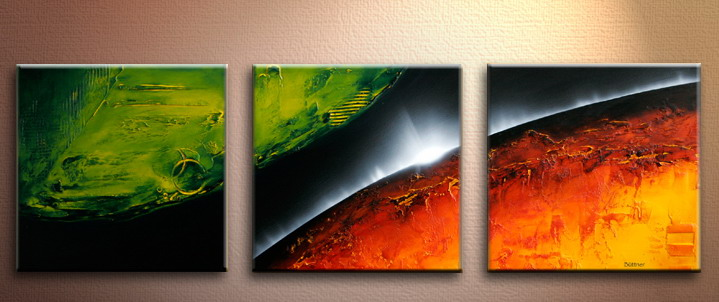 Modern Oil Paintings on canvas abstract painting -set09190