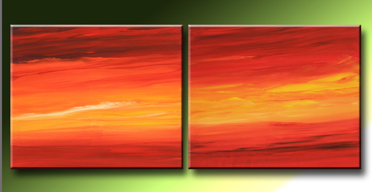 Modern Oil Paintings on canvas abstract painting -set09222