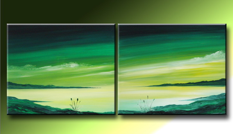 Modern Oil Paintings on canvas abstract painting -set09224