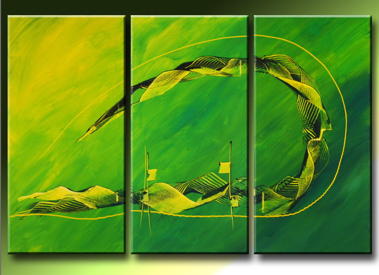 Modern Oil Paintings on canvas abstract painting -set09225