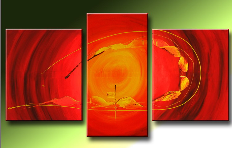 Modern Oil Paintings on canvas abstract painting -set09226
