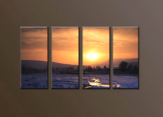 Modern Oil Paintings on canvas seascape painting -set10039
